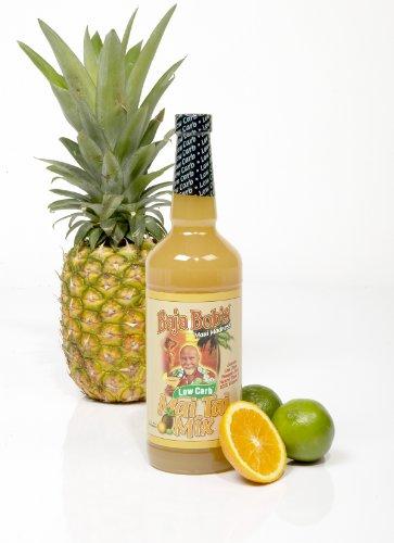 Baja Bob's Mai Tai Mix, 32oz, Baja Bobs Sugar Free Cocktail Mixer (What Is Triple Sec For Margaritas)