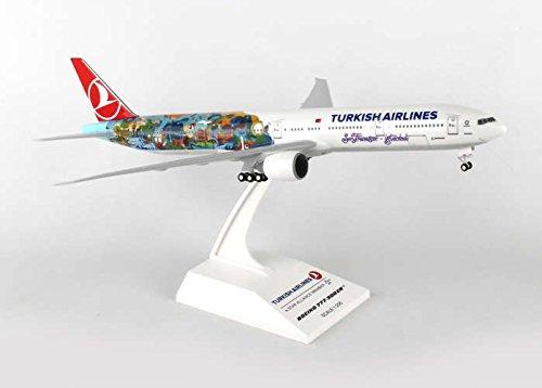 Skr854 Skymarks Turkish 777 300 1 200 W Gear Safranbolu Model Airplane