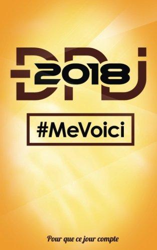DNJ 2018 - Me voici: Petit carnet pour ecrire - Collection