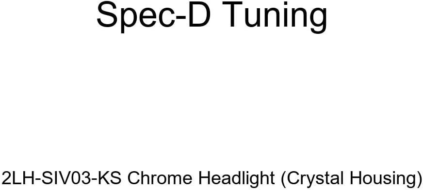 Crystal Housing Spec-D Tuning 2LH-SIV03JM-KS Black Headlight