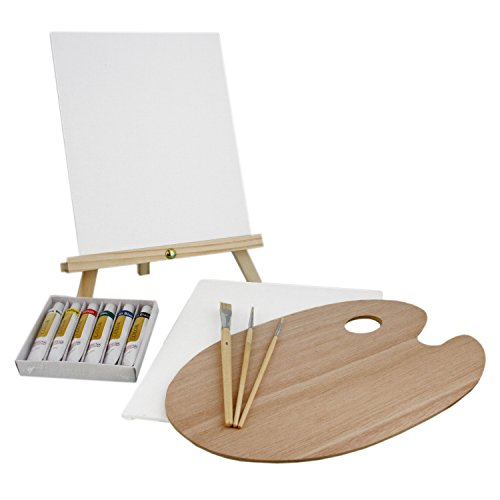 us-art-supply-13-piece-oil-painting-set-with-mini-table-easel-2