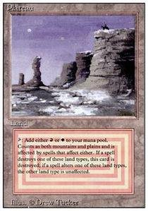 Magic: the Gathering - Plateau - Revised ()