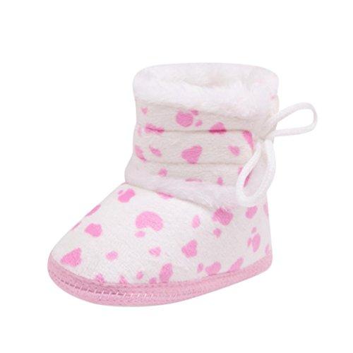 Baby Stiefel, BZLine® Baby Soft Sole Booties Schneeschuhe Infant stiefel Pink