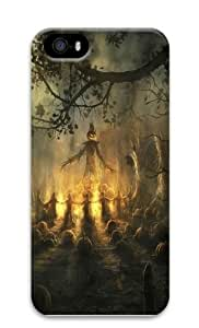 Halloween Night Mystery Dark PC Case Cover for iPhone 5 and iPhone 5s 3D