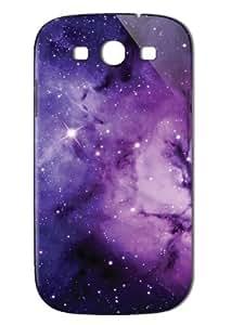 Case Fun Samsung Galaxy S3 (I9300) Case - Vogue Version - 3D Full Wrap - Purple Nebula