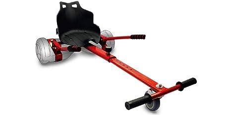 Intense Devices Hoverkart Silla para Patinete Electrico Self Balancing Compatible con Todos los tamaños (Rojo)