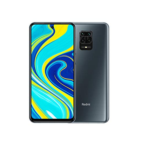 Xiaomi Redmi Note 9S – Smartphone de 6.67″ FHD+ (DotDisplay, Snapdragon 720G, 4 GB RAM, 64 GB ROM, cámara cuádruple de 48 MP, bateria de 5020mAh), Interstellar Grey [International Version]