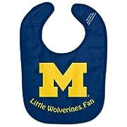 NCAA University of Michigan WCRA1995113 All Pro Baby Bib