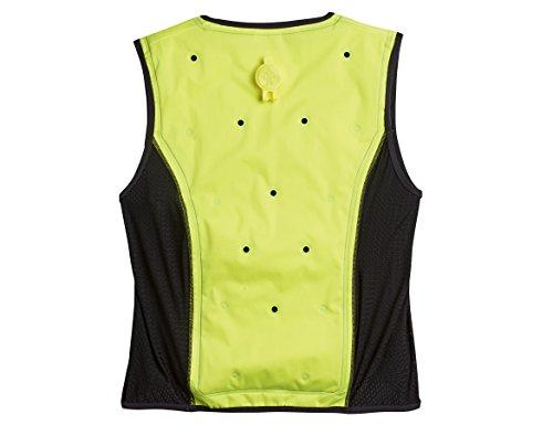 Ergodyne Chill Its 6685 Lime Dry Evaporative Cooling Vest, Large by Ergodyne (Image #1)