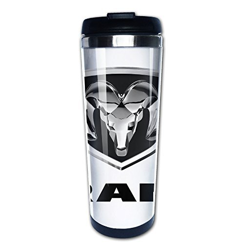nobee-dodge-ram-logo-stainless-steel-mug-vacuum-flask-coffee-thermos