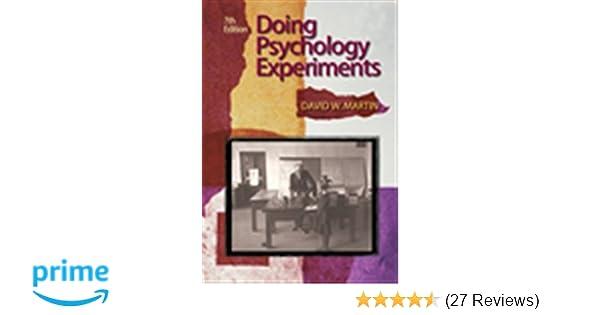 simple cognitive psychology experiments