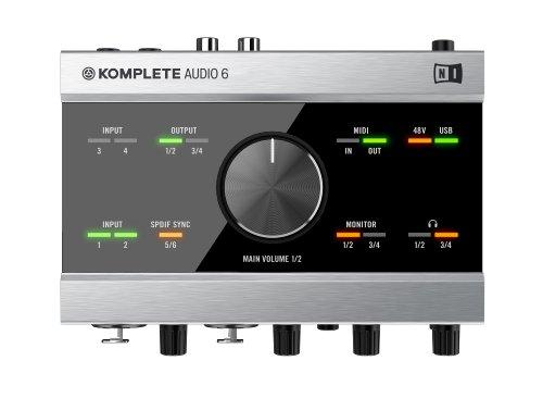native instruments komplete audio 6 premium audio interface buy online in uae musical. Black Bedroom Furniture Sets. Home Design Ideas
