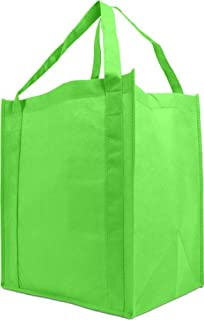 296cf744218f Amazon.com: Reusable Grocery Tote Bag Large 10 Pack - Mint Green ...