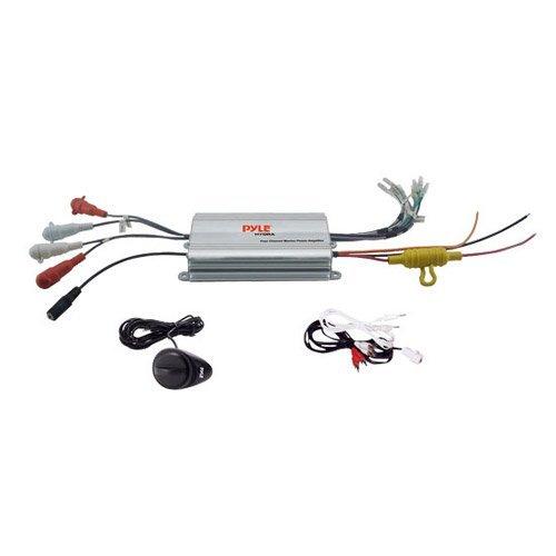 PYLE PLMRMP1A Hydra Series 2-Channel Waterproof iPod(R)/MP3 Marine Power Class AB Amp