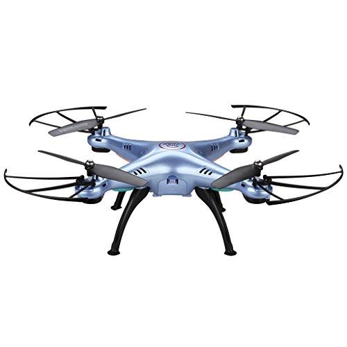 2016 Syma X5HC (X5SC RTF) 2.4GHz avec le mode caméra 2MP HD High Hold 6-Axis Gyro mode Headless RC Quadcopter (Couleur: Bleu)