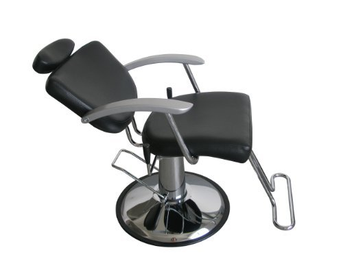All Purpose Hydraulic Recline Barber Chair, Shampoo by BestSalon