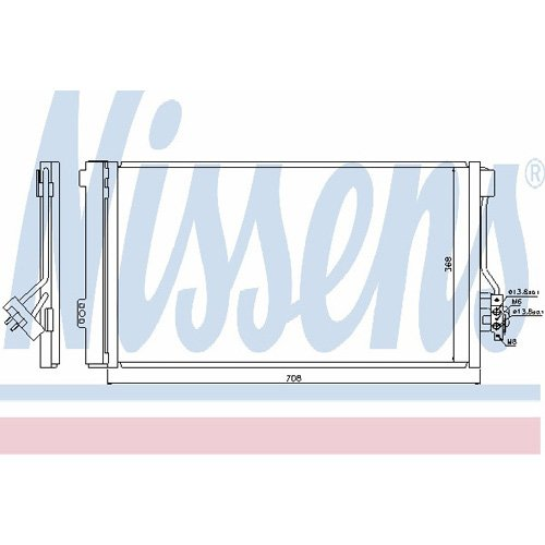 Klimaanlage Nissens 940178 Kondensator