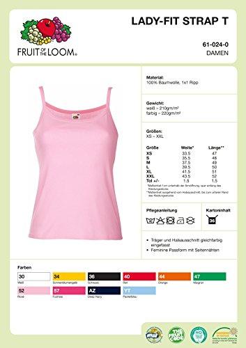 Shirtfrog - Camiseta sin mangas - Cuello redondo - para mujer negro/blanco
