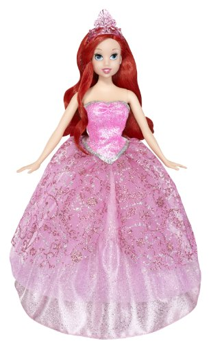 Disney Princess 2-In-1 Ballgown Surprise Ariel Doll]()