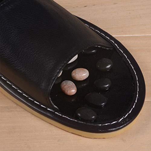 Pantofole Piedi Sandali Sanità Massaggio 2 Ai Pantofola Comoda Home Per Di Cobblestone rwBrUOq