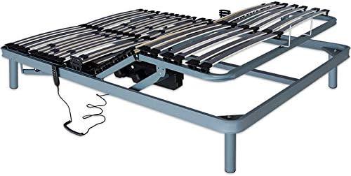 Ventadecolchones - Cama Articulada Reforzada Adaptator con Motor eléctrico Medida 150 x 190 cm