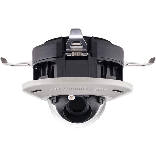 (ARECONT VISION AV3555DN-F-NL 3 MP IP MicroDome G2 Camera, Day/Night, 2048x1536, 21 fps, MJPEG/H.264, Remote Focus, in-Ceiling Flush Mount, Indoor, IK-10, PoE, 3 Axis Gimbal, No Lens, RJ 45)