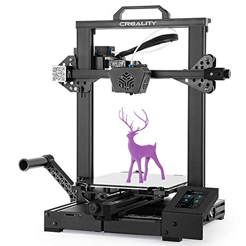 Creality Official CR-6 SE New Version 3D Printer Leveling- Free with Silent Motherboard Touch Screen and Double Z-Axis…