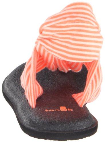 Sanuk Womens Yoga Sling 2 Flip Flop Neon Orange X22Zb