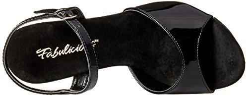 Clr Women's b Ctail509 Sandal c Black Platform Pleaser p0wFxnW0