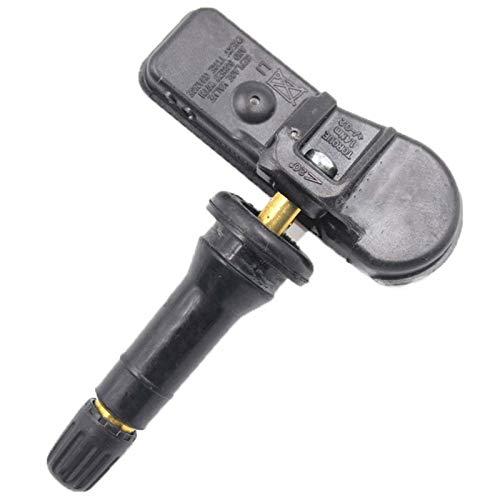 TOOGOO Sensori di monitoraggio della Pressione dei Pneumatici TPMS 4 pz per Peugeot Citrn M 9802003680