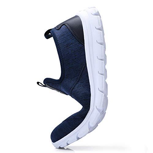 Diariamente Crown de Alpargata Camel la On del Caminar Vacaciones Conduciendo de para Barco Azul de Clásicos Shoes Planos para Negocios livianos Entrenadores Mocasines Slip Hombre HAARxdO