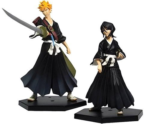 Bleach-Series-1-Ichigo-Rukia-Action-Figures-2-Pack