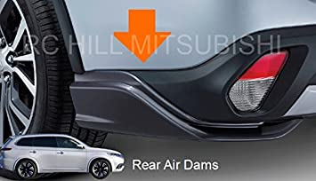 2016 GENUINE MITSUBISHI OUTLANDER REAR AIR DAM
