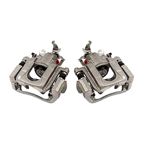 Caliper Assembly (CCK02481 [ 2 ] REAR Premium Grade OE Semi-Loaded Caliper Assembly Pair Set)