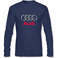 RNUER Audi Logo Men's Long Sleeves T-Shirts