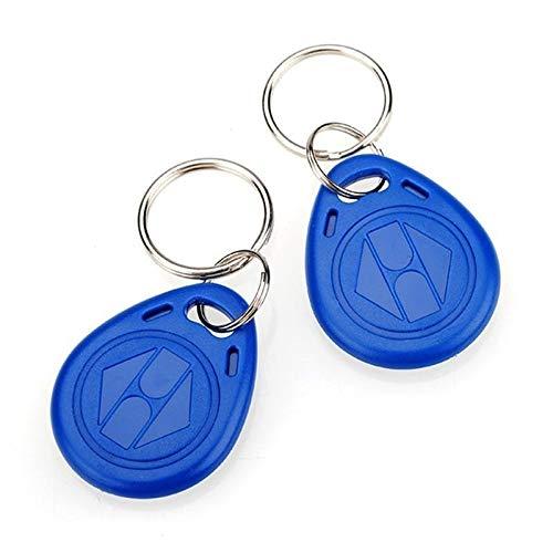 Chaveiro Mini Tag Convencional Kit 10 Peças Azul