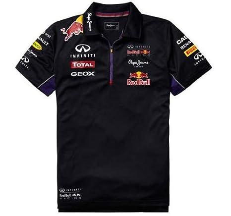 Red Bull Racing Teamline Polo Técnico para Hombre, Azul/Rojo, M ...