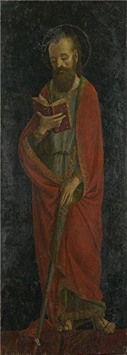 [Oil Painting 'Saint Paul Late 15th Century, Style Of Ambrogio Bergognone' 30 x 83 inch / 76 x 212 cm , on High Definition HD canvas prints is for Gifts And Dining Room, Home Theater And Study decor] (Stock And Bond Halloween Costume)