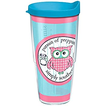 41655727307 Amazon.com: Tervis Simply Southern Preppy Owl Wrap Tumbler with ...