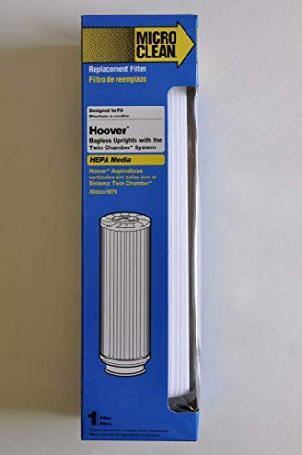 Vacuum Bagless Clean Twin - Hoover Bagless Upright Replacement Filter. Fits Hoover Windtunnel, Empower and Savvy models with Twin Chamber System. Replaces OEM Part # 40140201, 43611042, 42611049, Type 201