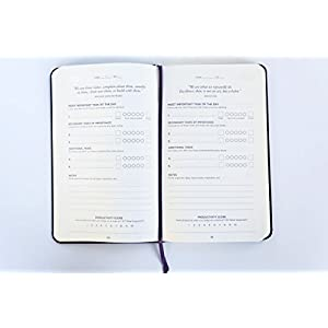 Productivity Planner - Daily Planner - Non Dated 5 x 8""