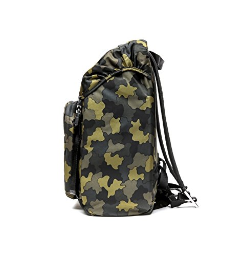 Prada Men's Top Flap Travel Backpack One Size Camouflage by Prada (Image #4)