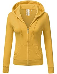 Amazon.com: Yellows - Fashion Hoodies & Sweatshirts / Clothing ...