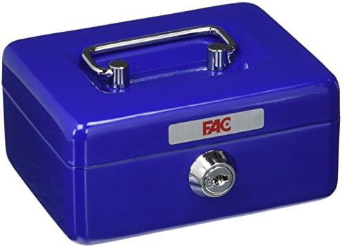 FAC 17002 Caja de caudales, Azul: Amazon.es: Bricolaje y herramientas