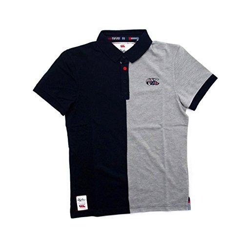 CANTERBURY Uglies Split Polo Shirt, Marineblau (klein)