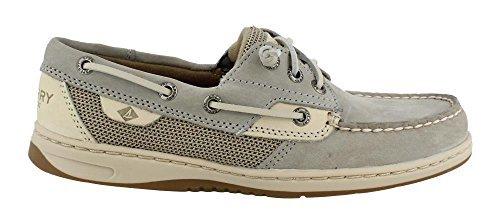 ish Boat Shoe, Light Grey, 5 Medium US ()