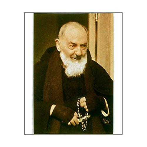 10X8 Print Of Padre Pio (579672) by Prints Prints Prints