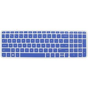 eDealMax teclado Film Protector de la piel Azul de la cubierta Para HP Pabellón 15 del