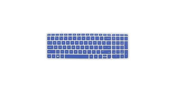 Amazon.com: eDealMax teclado Film Protector de la piel Azul de la cubierta Para HP Pabellón 15 del ordenador portátil: Computers & Accessories