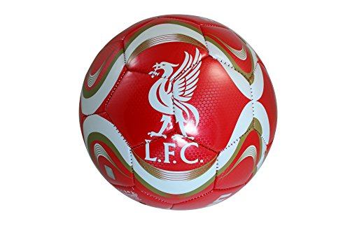 Liverpool F.C. Authentic Official Licensed Soccer Ball Size 5 -02 (Authentic Ball)